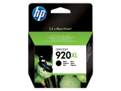 HP 920XL sort blækpatron CD971AE