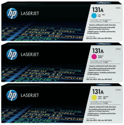 HP CMY Laser Toner Kit (131A)