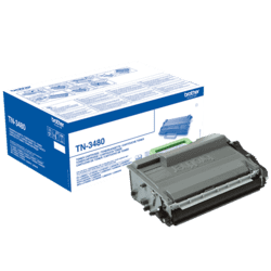 Brother TN3480 sort Lasertoner original