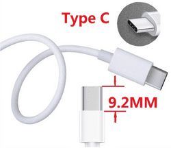 Kabel til Blackview USB-C extended  1m.