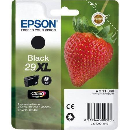 0038631fd 29XL EPSON Singlepack Black Claria Home Ink