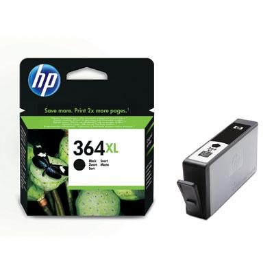 HP 364XL sort blækpatron CN684EE