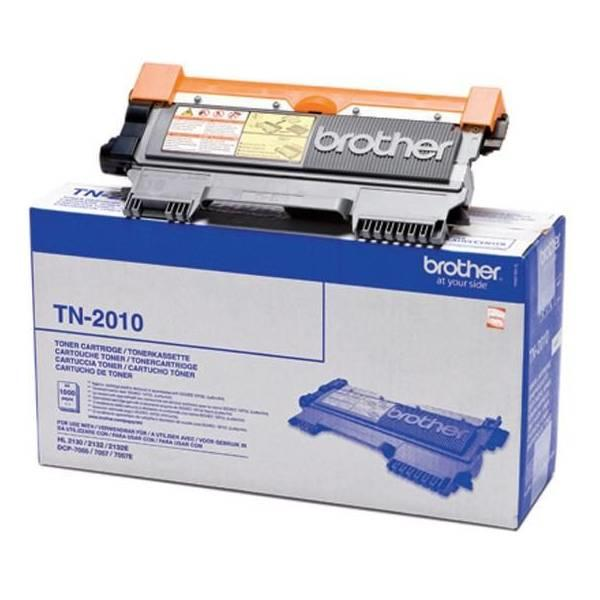 Brother TN2010 sort Lasertoner original