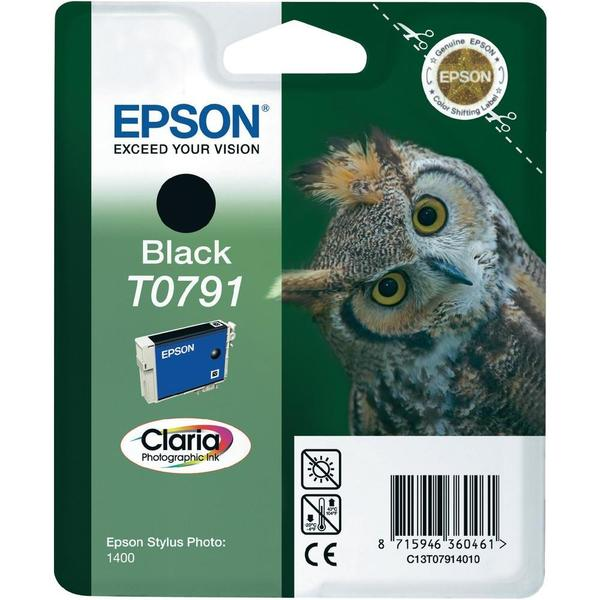 Epson Black Ink Cartridge T0791