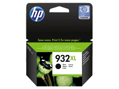 HP932XL sort blækpatron