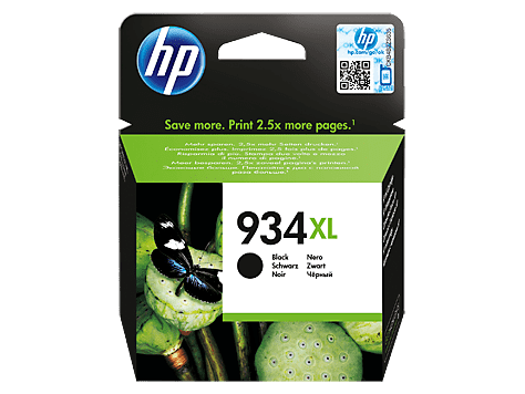 HP Black Inkjet No.934XL C2P23AE