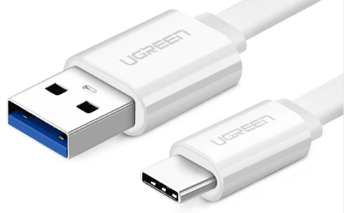 USB-C farvede