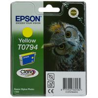 Epson Yellow Ink Cartridge T0794